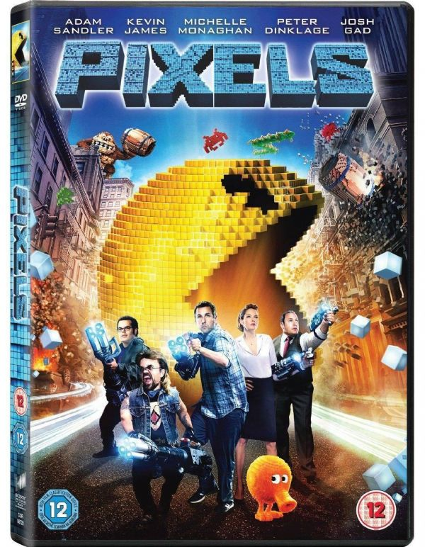 PIXELS  (DVD 2015) NEW SEALED